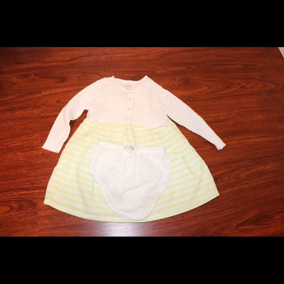 Cat & Jack Other - Cat &jack girl's 3 pieces dress size 18months
